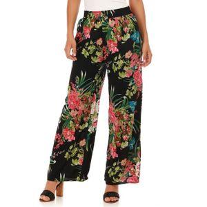 91a3658932e Pantalon fluide femme taille elastiquee - Achat   Vente pas cher
