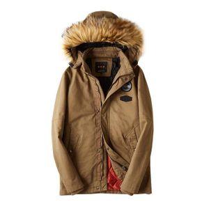 BLOUSON Boutique Hugo-Mi-Longue Blouson en Coton Homme Cap