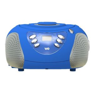 RADIO CD ENFANT Lecteur Radio  CD-MP3 pour enfants WE bleu Rose