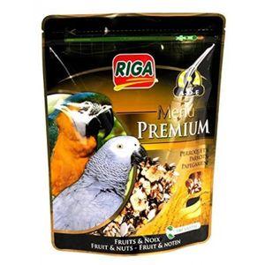 CROQUETTES RIGA Menu Premium Perroquets Fruits et Noix - Doyp