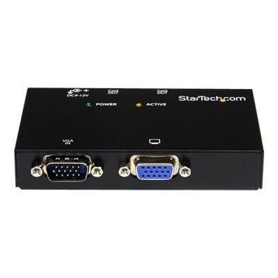 STARTECH Extendeur vidéo VGA sur Cat5 à 2 ports - Extender VGA - Prolongateur VGA sur câble Ethernet - 150 m - Transmetteur