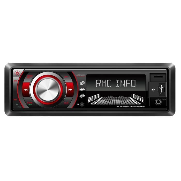 TAKARA RDU1840 Autoradio numérique Bluetooth