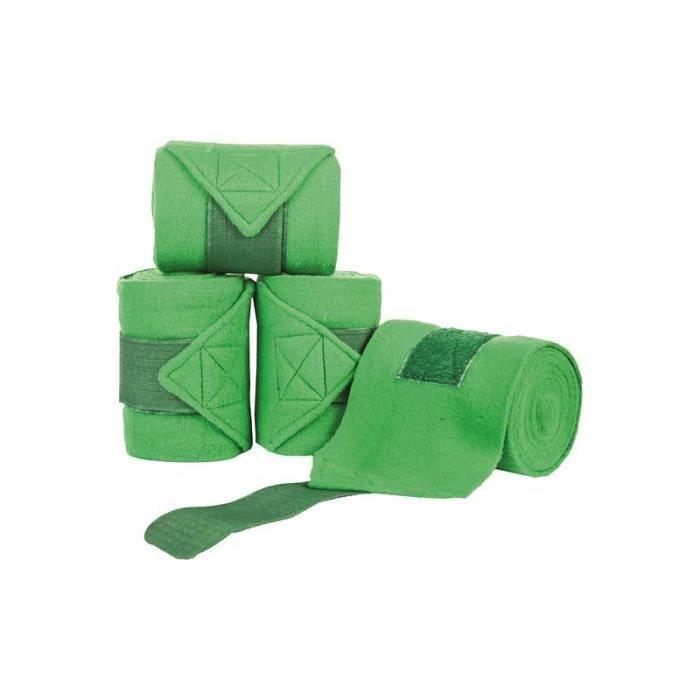 Bandes Polo HKM Vert clair Cheval (3M)
