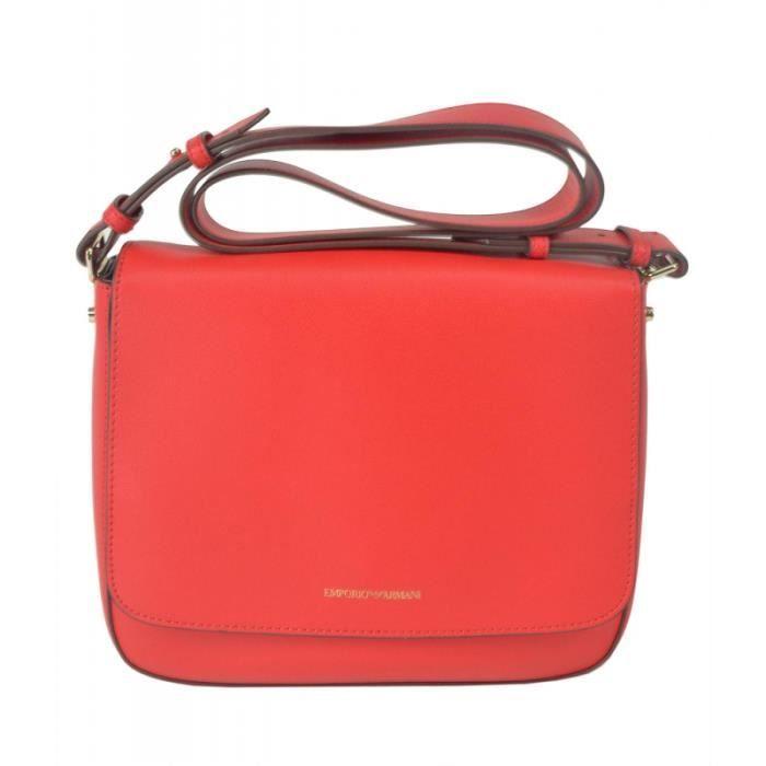 Sac bandoulière Emporio Armani Y3B082 YH23A-rouge Rouge - Achat ... d86315e2ef9