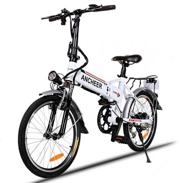 v lo lectrique 20 pouces roue vitesse mountain bike aluminium alliage cadre prix pas cher. Black Bedroom Furniture Sets. Home Design Ideas