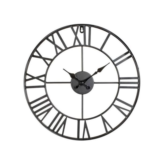 horloge vintage achat vente horloge vintage pas cher cdiscount. Black Bedroom Furniture Sets. Home Design Ideas
