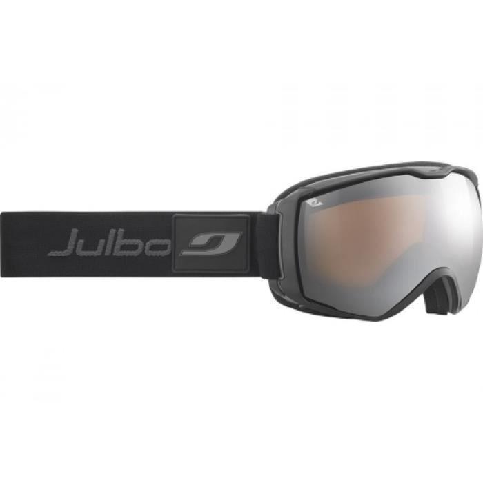 MASQUE - LUNETTES SKI Masque de ski mixte JULBO Noir Airflux Noir   Gris be34c9488890