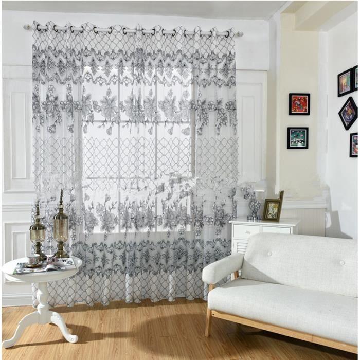 rideau fenetre salon great rideau fenetre salon with rideau fenetre salon amazing europenne de. Black Bedroom Furniture Sets. Home Design Ideas