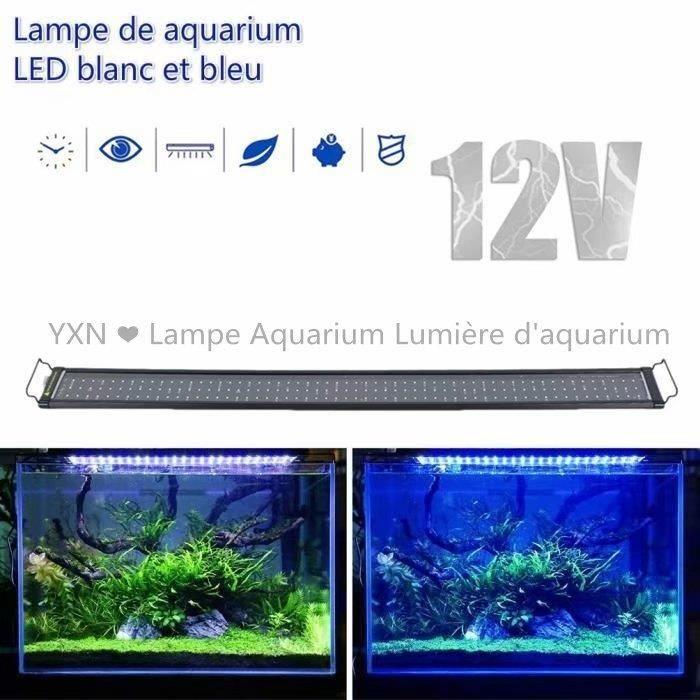 Yxn Rampe Led Aquarium Lampe Led Aquarium Bleu Et Blanc Eclairage