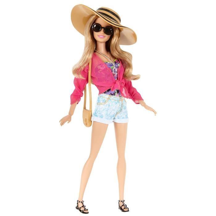 Poup e barbie mode t barbie achat vente poup e - Le chat de barbie ...