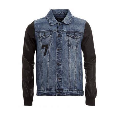 UNKUT Veste Homme Bleu - Achat   Vente manteau - caban - Soldes  dès ... 528037ff16ce