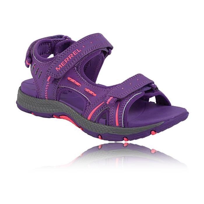 Merrell Enfant Fille Panther Sandales Violet - Prix pas cher - Cdiscount 3a1e9945891