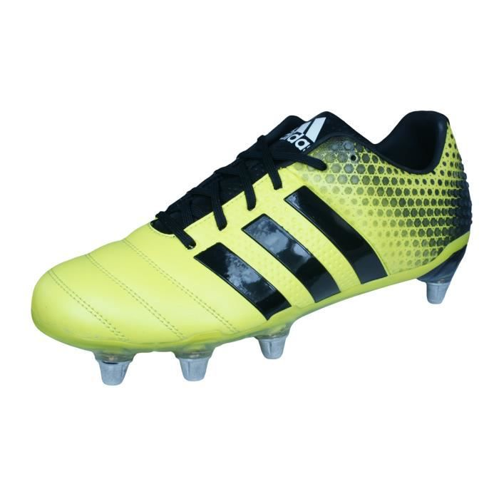 new style 0d032 34ea0 adidas Adipower Kakari 3.0 SG Hommes Chaussures de Rugby Jaune 8.5