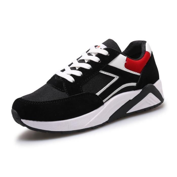 Baskets Chaussures de sport pour femme chaussures de course à fond épais