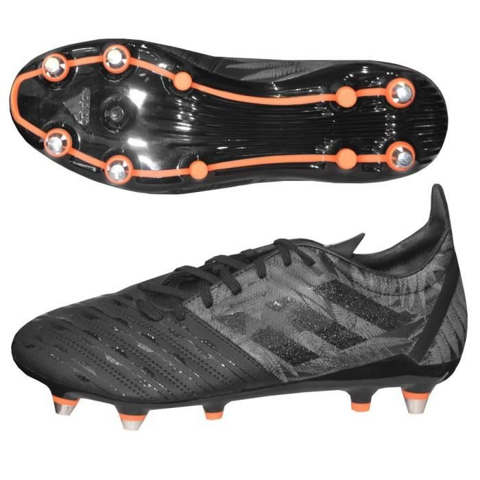 Chaussures rugby Adidas Malice SG noire