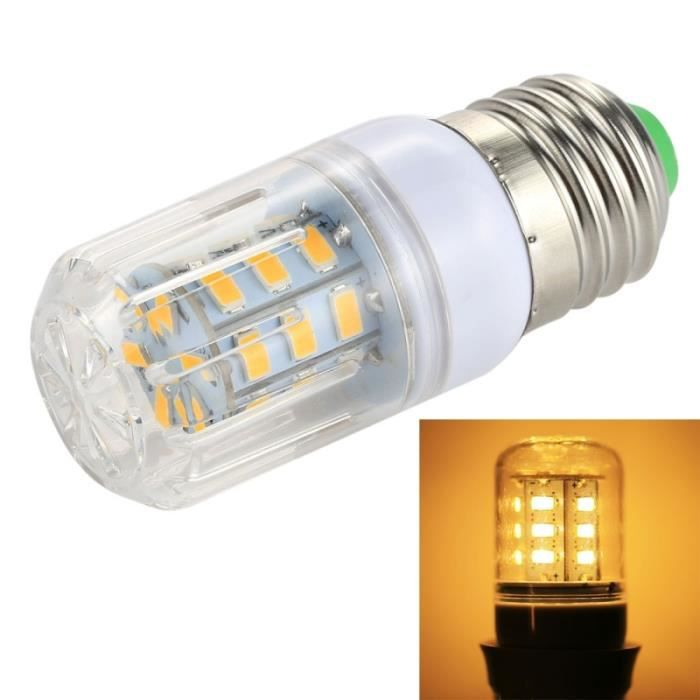 3w À Ampoule Économie D'énergie 27 Dc Blanc Smd 5730 12v Chaud Led E27 VpUSzM