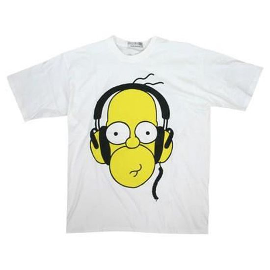 Miraculous Homer Simpson Headphones White M Download Free Architecture Designs Scobabritishbridgeorg