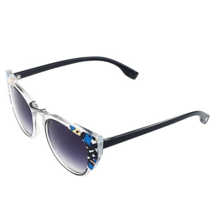Deuxsuns®Lunettes Vintage soleil Designer de Mirror Eye Lens BK mode zf179 Christian Cat 050rHxwqa