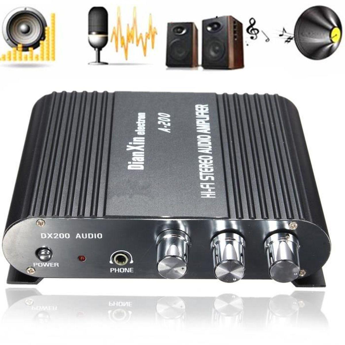 20m qualit haut parleur bobine c ble 2x audio hifi. Black Bedroom Furniture Sets. Home Design Ideas