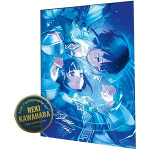 AFFICHE - POSTER Lithographie Sword Art Online