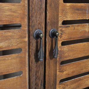 Accessoire salle de bain marron - Achat / Vente pas cher