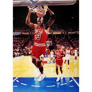 AFFICHE - POSTER Affiche photo de Michael Jordan dunk (Dimensions :