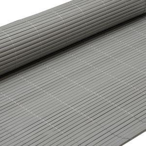 CLÔTURE - GRILLAGE eyepower Canisse en PVC 120x300cm | rouleau en pla