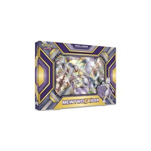 CARTE A COLLECTIONNER Coffret Mewtwo Ex Box - Asmodee - Version Anglaise