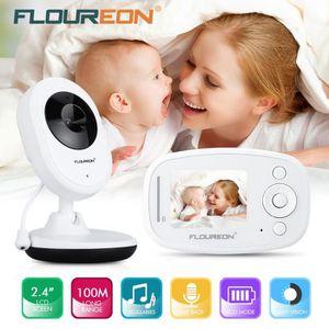 ÉCOUTE BÉBÉ FLOUREON BabyPhone Vidéo Sans Fil Multifonctions M