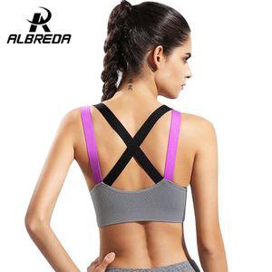48c4138e0ab6 ALBREDA professionnel Soutien-gorge de yoga Sport Gilet Femme Fitness  Course de soutien-gorge de fitness sport Gilet femme