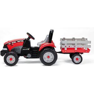 TRACTEUR - CHANTIER PEG PEREGO Tracteur à pédales réglable Maxi Diesel