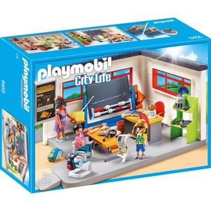 FIGURINE - PERSONNAGE PLAYMOBIL 9455 - City Life - Classe d'Histoire - N