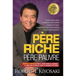 LIVRE DÉVELOPPEMENT Pere riche pere pauvre 20 ans - Robert T. Kiyosaki
