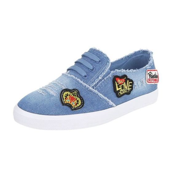 41 Taille Chaussons 3o2usj Trendtwo Mocassins Plat Chaussures Femme Yq6ASaxgw