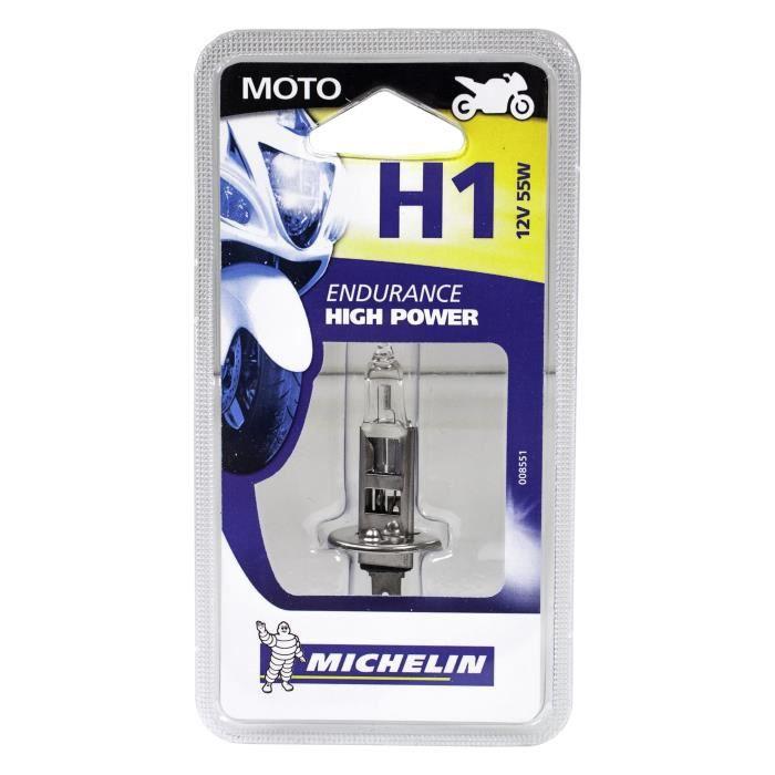 MICHELIN 1 Ampoule H1 Moto - 55W - 12V