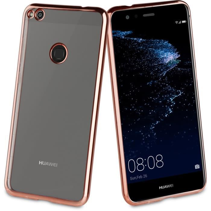 Muvit Life Coque Bling Or Rose pour Huawei P8 Lite 2017