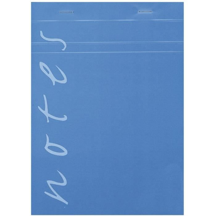 CLAIREFONTAINE Bloc notes - 148x210mm - 60g - 100 feuilles