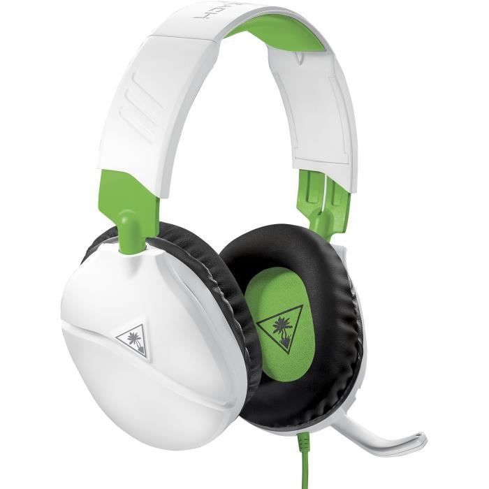 TURTLE BEACH Casque gamer Recon 70X pour Xbox One Blanc (compatible PS4, PS4 Pro, Nintendo Switch, Appareils mobiles) - TBS-2455-02
