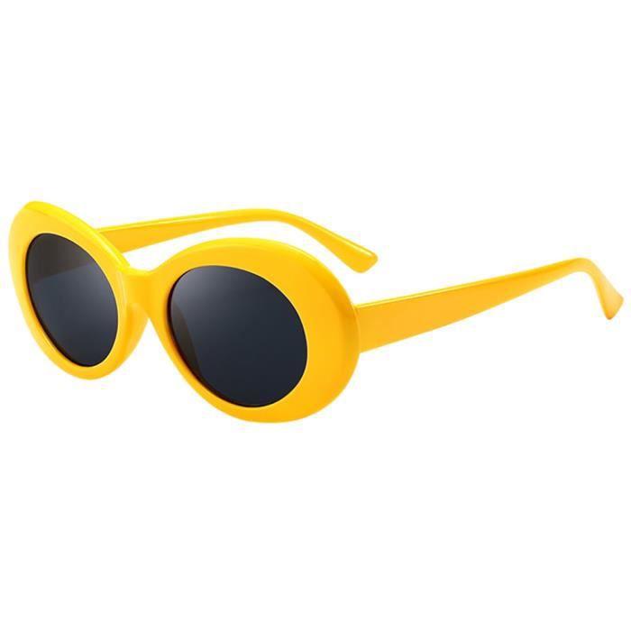 Deuxsuns®Retro Vintage Clout lunettes lunettes de soleil unisexe rappeur ovales  lunettes grunge lunettes zf338 f30b80c3be3a