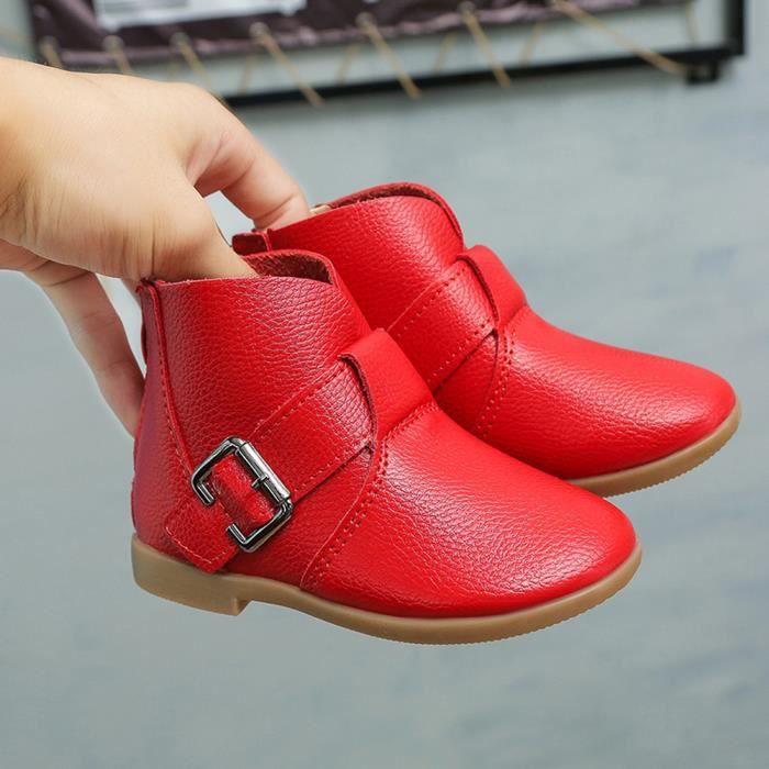Chaussures d'hiver enfants bottes Martin bottes enfants Boots filles bottes Fashion baskets
