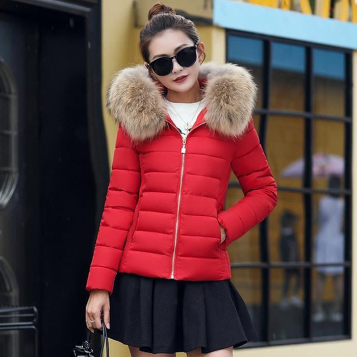 doudoune rouge femme achat vente doudoune rouge femme pas cher cdiscount. Black Bedroom Furniture Sets. Home Design Ideas