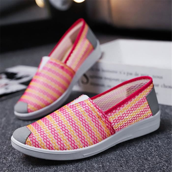 on Durable Baskets Sneakers Loisirs Femme Nouvelle À Confortable L'usure Arrivee Chaussures Slip Personnalité Résistantes 6bvYfgy7