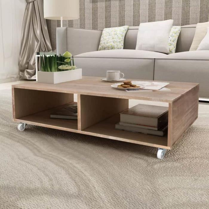 Moderne Table basse Table à thé console salon contemporain ...