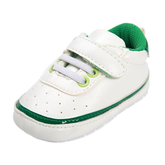 BOTTE Toddler bébé cravate chaussures souples crèche chaussures bébé garçons filles chaussures décontractées@VertHM 4R505voPcM