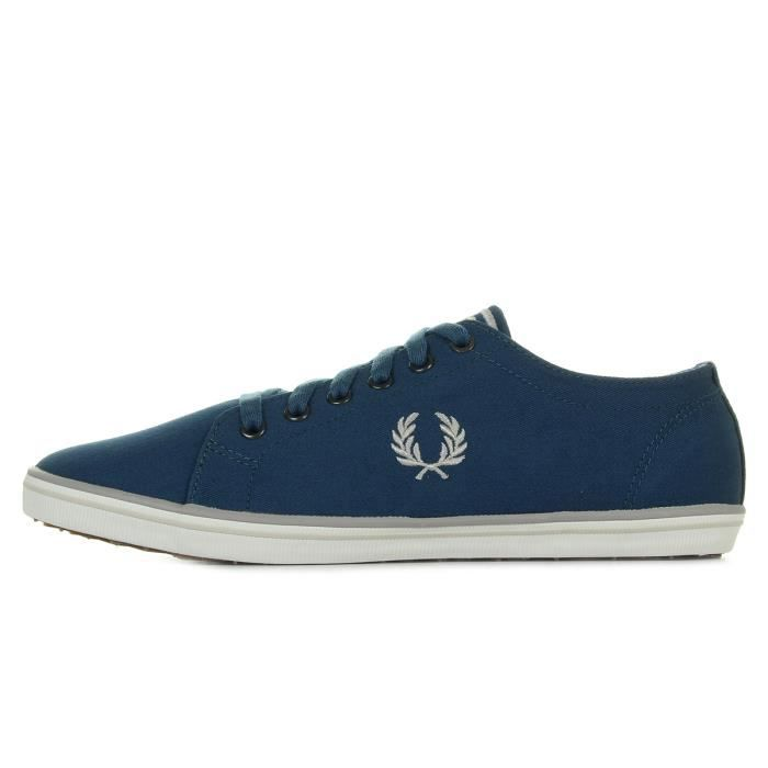 Baskets Fred Perry Kingston Twill Midnight Blue Q5wxIoqN