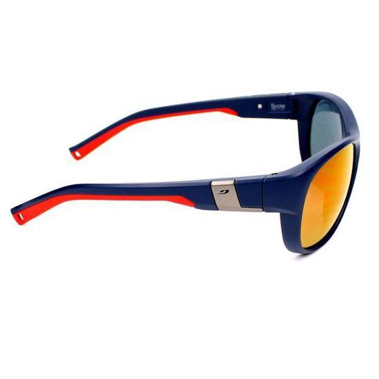 1a93c2c63837df Lunettes de soleil Julbo J487 Shore-1112 Bleu mat - Rouge - Achat   Vente lunettes  de soleil Homme Adulte Bleu - Soldes  dès le 9 janvier ! Cdiscount