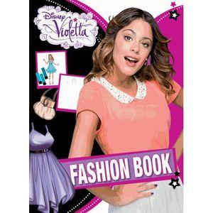 LIVRE JEUX ACTIVITÉS Fashion Book Violetta