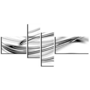 TABLEAU - TOILE SOFT Tableau déco abstrait 140x70 cm