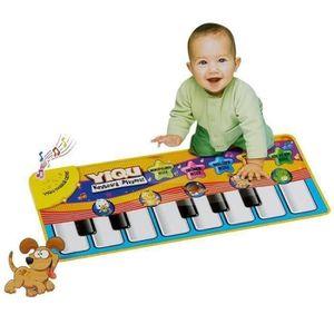 TAPIS ÉVEIL - AIRE BÉBÉ Jouet Musical tactile clavier chant tapis Chaud mo