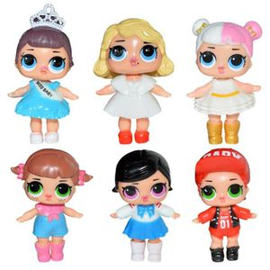 FIGURINE DE JEU 6pcs Nouveau Surprise LoL poupée Figurines